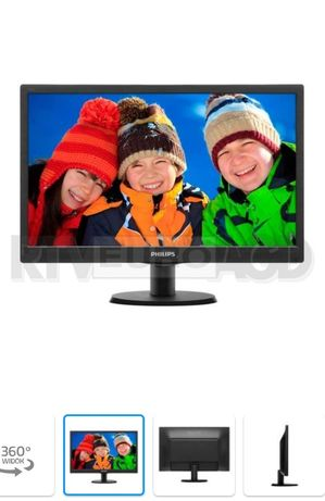 Nowy monitor Led Philips 193V57SB2/10 18.5""