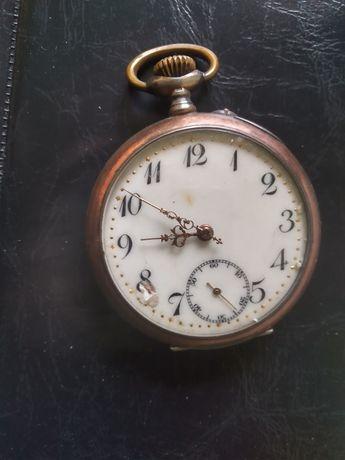 Stary zegarek Remontoir srebro