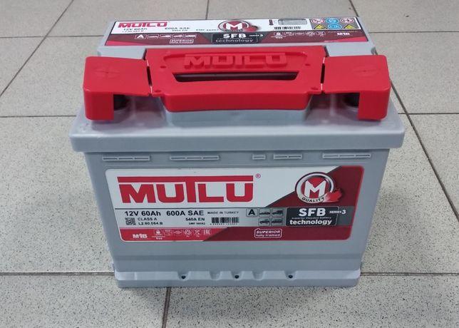 Аккумулятор Mutlu 60,63,75,78,85,100,190Ah,(Мутлу Tурция) автомобильны
