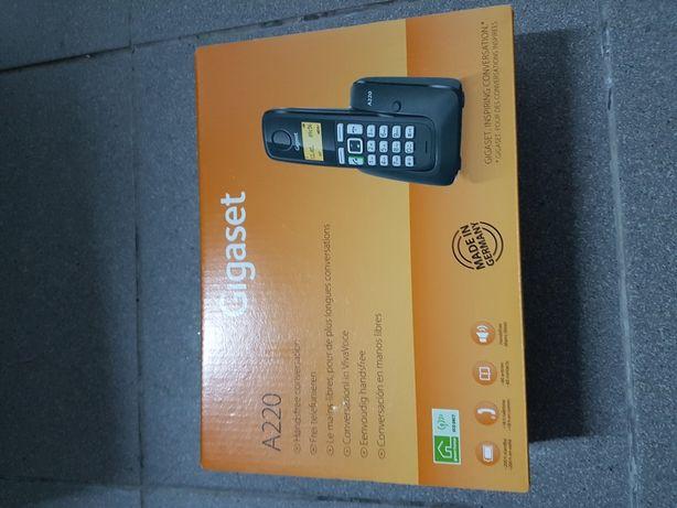Telefone sem fios novo Gigaset A220