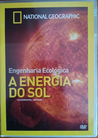 "DVD ""A Energia Do Sol - Engenharia Ecológica"" National Geographic"