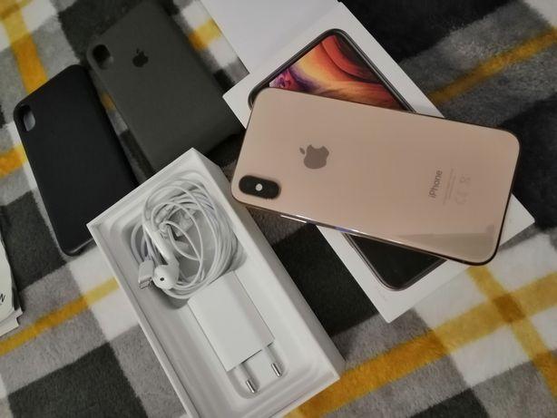 IPhone XS 64GB Gold Gwarancja do 2022.06 Faktura Zakupu Jak Nowy