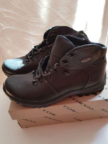 Взуття для зими: чорні шкіряні ботинки, ТМ SPORT, р.41