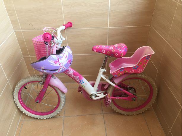 Подарунок Велосипед барбі 16 дюймів колеса до 7 років