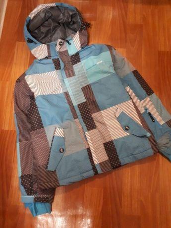 Зимняя горнолыжная термо куртка детская/ peak mountain / р.152см
