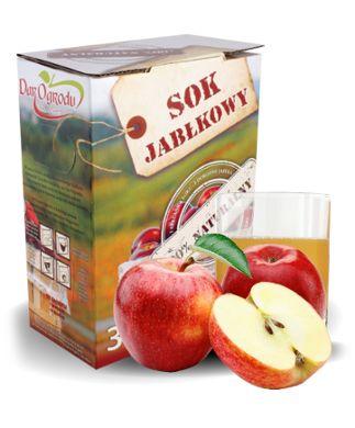 Naturalny 3 Litrowy ECO Sok z Wielkopolskich Jabłek PIJ WITAMINY