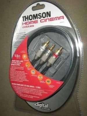 Kabel Thomosn jack 2 cinche KHC 006  jack-cinch 3m wysoka jakość nowy!