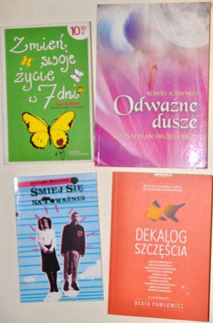 Dekalog szczęścia itp - 4 książki