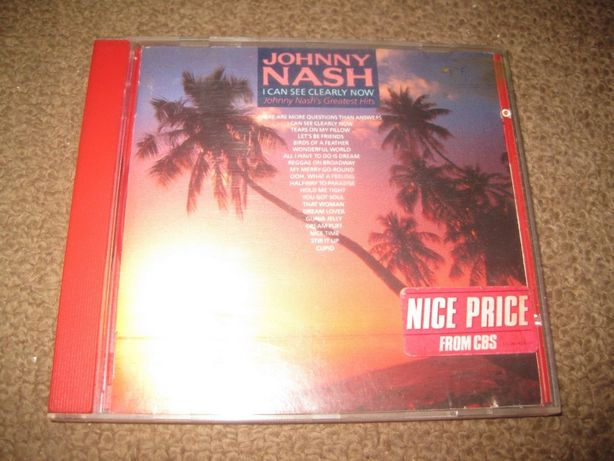 "CD ""I Can See Clearly Now: Johnny Nash`s Greatest Hits"" Portes Grátis!"