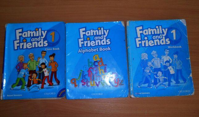 английский Family and Frends 1 уровень бу