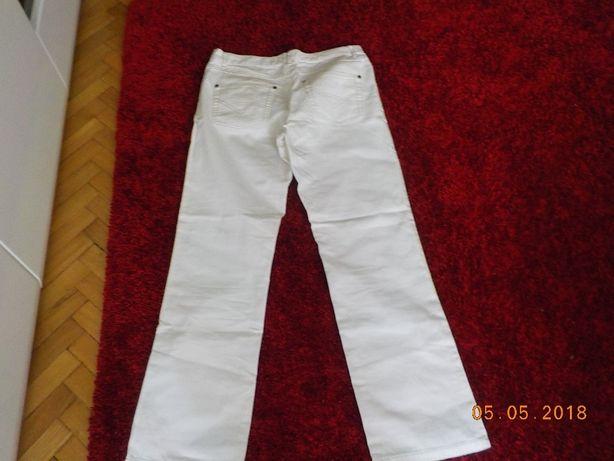 Spodnie jeansowe białe .Piękne ,założone 2 x.rozm.40