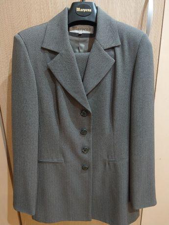 garnitur kostium komplet damski żakiet marynarka spodnie r. 36