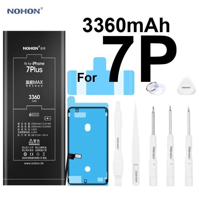 Аккумуляторная батарея NOHON iPhone 4S 5s SE 6 6S 6S Plus 7 8+ X XS XR
