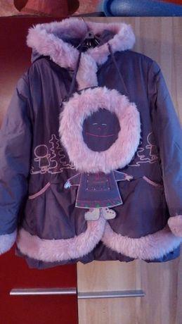Оригинальная зимняя куртка рост 122