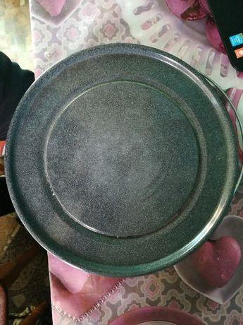 Тарелка биокерамическая СВЧ в микроволновку.Микроволновая печь.