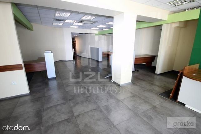 Centrum - Lokal przygotowany pod dział. bankową