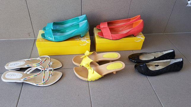 5 par butów rozmiar 40