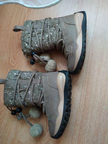 Сапожки geox , сапоги, чоботи, чобітки h&m, ecco, zara, ботинки