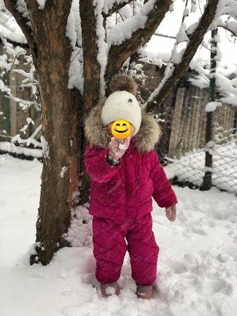 Зимний комбинезон .