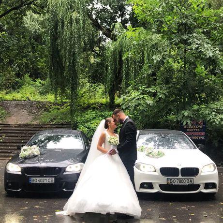 Весільний кортеж BMW. Прокат авто. Оренда автомобіля. Весільні послуги