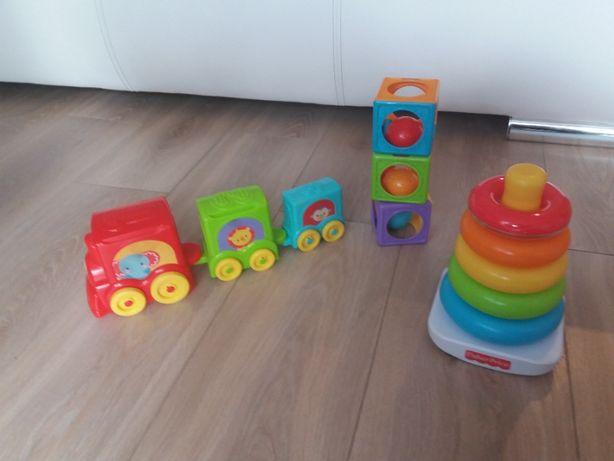 zabawki jak nowe fisher price