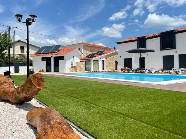 Casa centenária com piscina para turismo rural V4