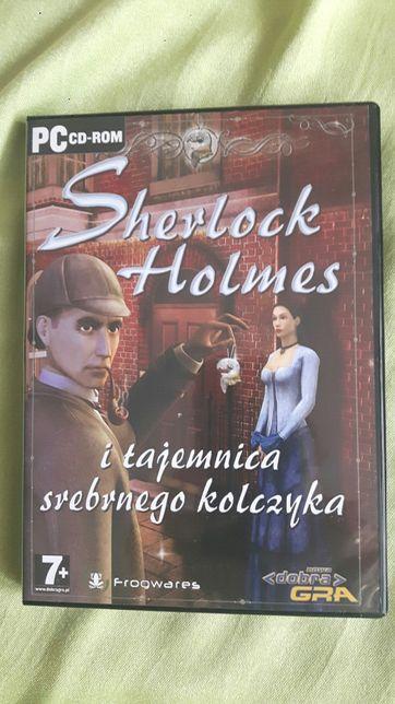 Gra PC Sherlock Holmes wersja językowa PL komputer używana