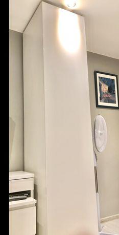 Drzwi do szafy PAX Ikea białe wysoki połysk FARDAL 50x229