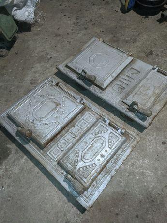 Спарені дверки для печі (Румунія)