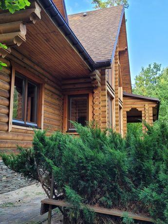 Деревянный дом,  сруб, смерека
