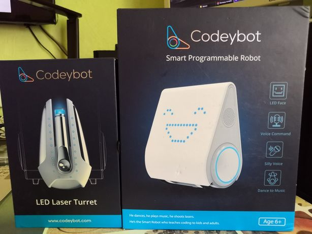 Интерактивная игрушка Makeblock Codeybot
