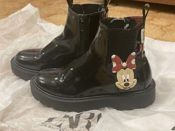 Ботинки мики и мини маус zara для девочки