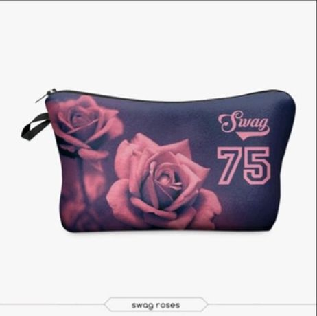 Malas/bolsas cosmético/viagem/estojo 3D novo, excelente qualidade
