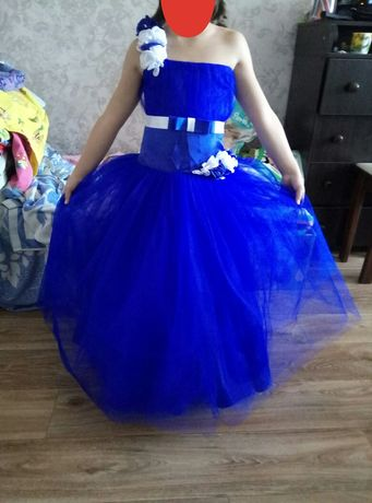 Платье нарядное, бальное,пышное на выпускной,свадьбу,день рожденье 5-7