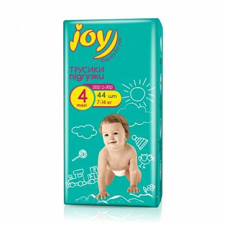 Трусики памперсы подгузники джой Joy run and fun 4