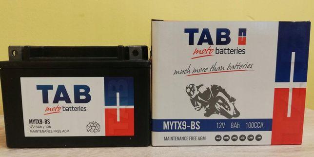 Akumulator motocyklowy Tab 12V/8Ah Ytx9-bs