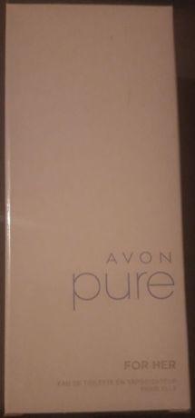 AVON perfumy PURE dla niej 50 ml NOWE