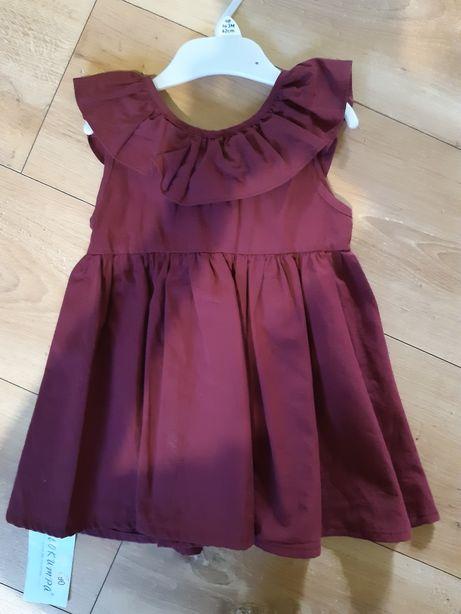Sukienka nowa roz.86