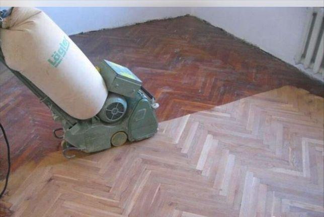 Ремонт паркета, реставрация, обновление паркетных полов в Киеве