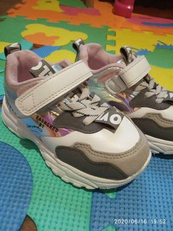 Кроссовки для девочки, 15 см, 24 размер