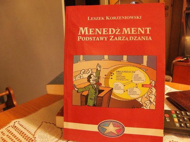 Menedżment podstawy zarządzania - Leszek Korzeniowski