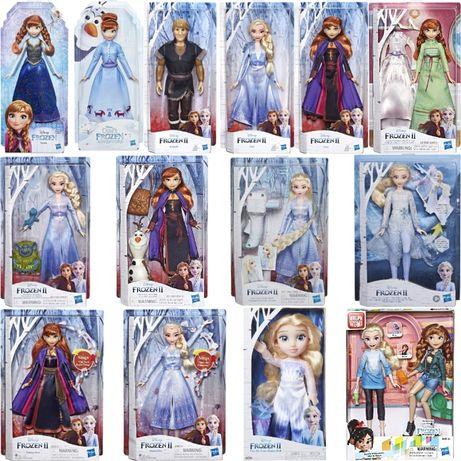 Куклы Анна, Эльза, Кристофф, Олаф, Холодное Сердце, Frozen 2, Hasbro