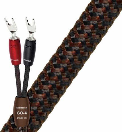 Kabel głośnikowy Audioquest GO-4 (2 Banany na 2 Banany) 2x 2,5 m
