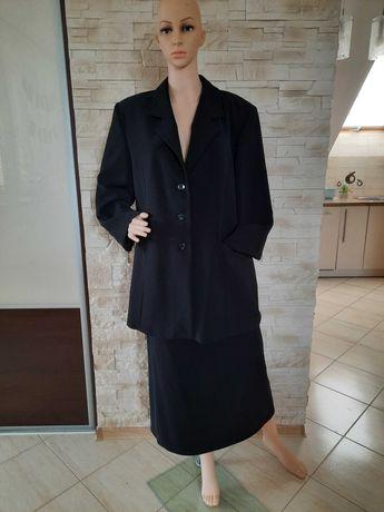Kostium czarny rozmiar 48