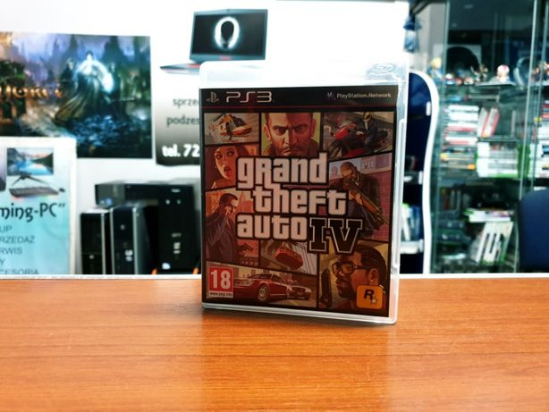 Gra na PS3 GTA IV