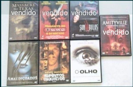 Filmes de Terror (variados)