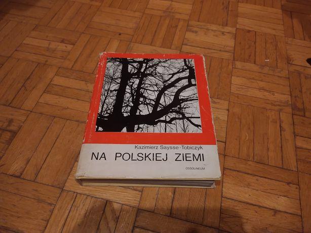 Kazimierz Saysse-Tobiczyk na polskiej ziemi