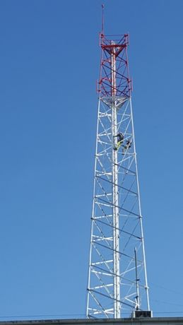 Malowanie elewacji antykorozja Usługi alpinistyczne prace na wysokości