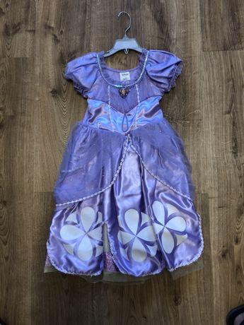 Продам красивое платье принцессы Софии,Дисней,оригинал,рост 104-120 см
