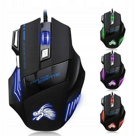 Mysz Gamingowa Pro 3200DPI 4LED